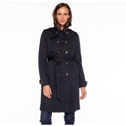 Trench authentique en pur coton - TRENCH AND COAT - Modalova
