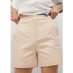 Short coton poches - Mango - Modalova