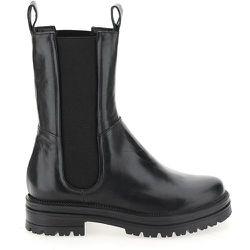 Boots chelsea montantes en cuir - MJUS - Modalova