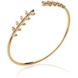 Bracelet jonc zirconias blancs - BALSAMIK - Modalova