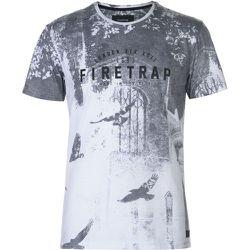 T-shirt col rond imprimé graphique - Firetrap - Modalova