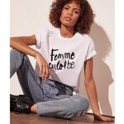 T-shirt coton bio FEMME - ETAM - Modalova