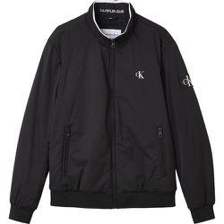 Blouson zippé col montant Harrington - Calvin Klein Jeans - Modalova