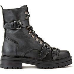 Boots cuir à talon moyen - MJUS - Modalova