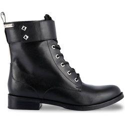 Boots cuir à lacets Lucile - LES TROPEZIENNES PAR M BELARBI - Modalova