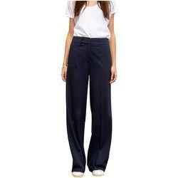 Pantalon large en maille milano SICLE - CHEMINS BLANCS - Modalova