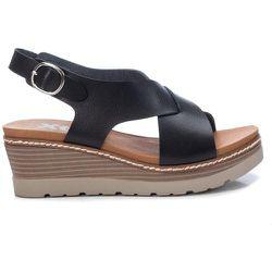 Sandale avec bandes et compensée - XTI - Modalova