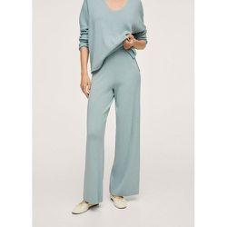 Pantalon coton maille - Mango - Modalova