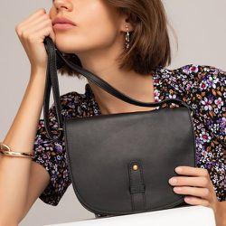 Petit sac besace en cuir - LA REDOUTE COLLECTIONS - Modalova