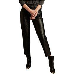 Pantalon simili cuir PARIS DUNDEE - SCHOOL RAG - Modalova