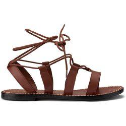 Sandales en cuir talon plat - SOEUR X LA REDOUTE COLLECTIONS - Modalova