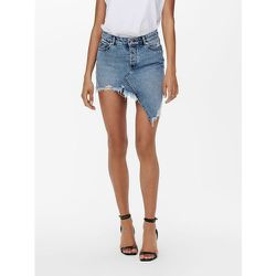 Jupe en jean Taille haute asymétrique - Only - Modalova