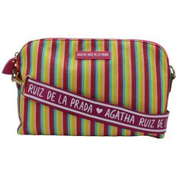 Grand sac à bandoulière à motif et paillettes - AGATHA RUIZ DE LA PRADA - Modalova