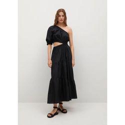 Robe coton fendue - Mango - Modalova