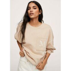 Sweat-shirt coton détails brodés - Mango - Modalova