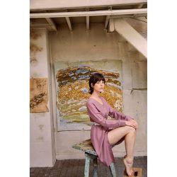 Robe chemise Rose Zéphyr - SOI PARIS - Modalova