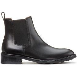 Boots en cuir talon large - ANTHOLOGY PARIS - Modalova