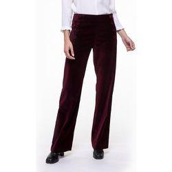 Pantalon coton modal en velours SEVE - CHEMINS BLANCS - Modalova