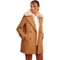 Manteau à col fausse fourrure - BURTON OF LONDON - Modalova