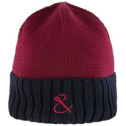 Bonnet côtelé en laine brodé - ATELIER F&B - Modalova