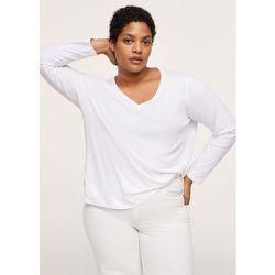 T-shirt coton manches longues - Mango - Modalova