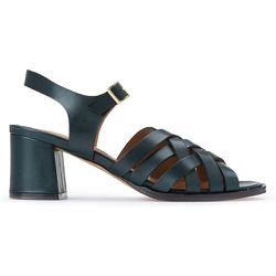 Sandales à talon à brides croisées en cuir DOLORES - ANTHOLOGY PARIS - Modalova