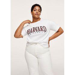 T-shirt coton imprimé - Mango - Modalova