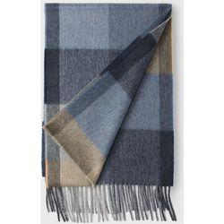 Écharpe en laine cachemire grands carreaux - Arrow - Modalova