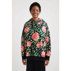 Sweat-shirt oversize capuche - Desigual - Modalova