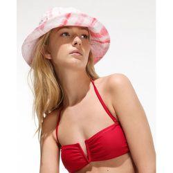 Haut de bikini bandeau uni fibres recyclées - FORMULA JOVEN - Modalova