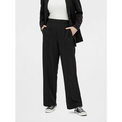 Pantalon à jambe ample Taille haute - Pieces - Modalova