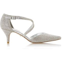 Chaussures à talons bobine ées ornées de strass - CAPTIVATED - DUNE LONDON - Modalova