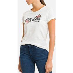 T-shirt col rond manches courtes motif devant - Pepe Jeans - Modalova