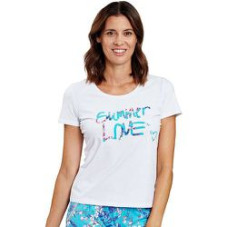 T-Shirt de Pyjama BE HAPPY - ROSCH - Modalova