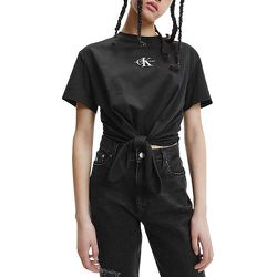 Tee shirt manches courtes noué à la taille KNOTTED - Calvin Klein - Modalova