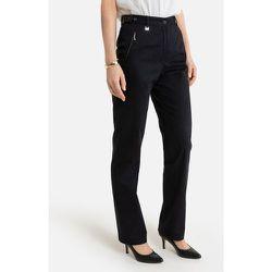Pantalon, satin de coton stretch - Anne weyburn - Modalova