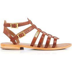 Sandales cuir spartiates Hireca - LES TROPEZIENNES PAR M BELARBI - Modalova