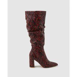 Chaussures montantes print peau de serpent tige effet froissé - FORMULA JOVEN - Modalova