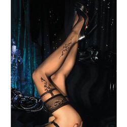 Bas autofixants avec fils métallisés 20D 446 - Ballerina - Modalova