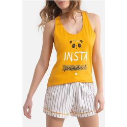 Pyjashort coton Insta Panda - MELISSA BROWN - Modalova