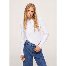 T-shirt froncé manches longues - Mango - Modalova