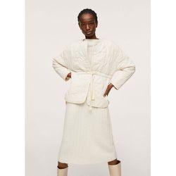 Veste texturée coton - Mango - Modalova