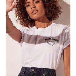 T-shirt ' culottée' HEART GIRL - ETAM - Modalova