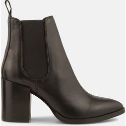 Boots cuir à talons Payson - MINELLI - Modalova