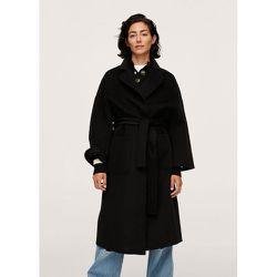 Manteau fait main en laine - Mango - Modalova