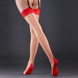 Bas avec Couture Arrière /Rouge - Bluebella - FR - Modalova