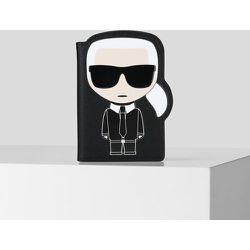 K/Ikonik étui à passeport - Karl Lagerfeld - Modalova