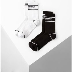 LOT DE 2 PAIRES DE CHAUSSETTES KARL SPORT - Karl Lagerfeld - Modalova