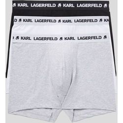 LOT DE 3SLIPS FAÇON BOXER À LOGO - Karl Lagerfeld - Modalova
