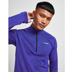 T-shirt Terrex Tracerocker Half-Zip Long Sleeve - Adidas - Modalova